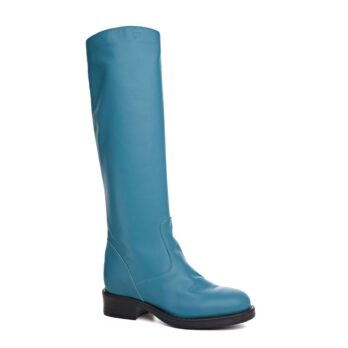 high-top Turquoise women's boots 1