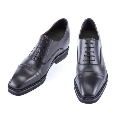 black oxford leather dress shoes 2