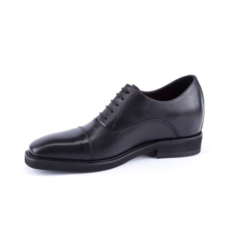 black oxford leather dress shoes 3