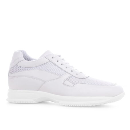 Alaska raised shoe white sneaker Guidomaggi