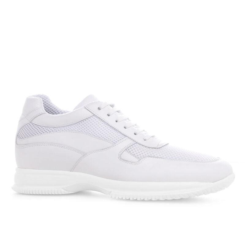 Alaska raised shoe white sneaker Guidomaggi