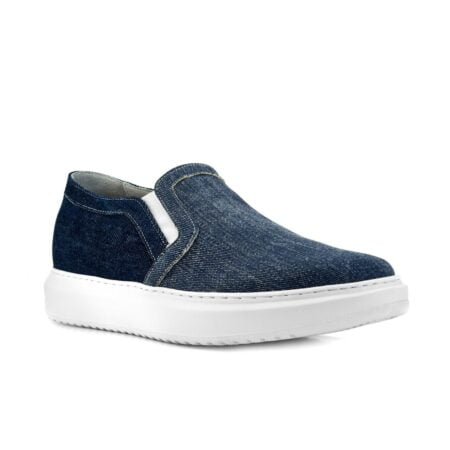 Alassio Slip-on shoe for short men Guidomaggi