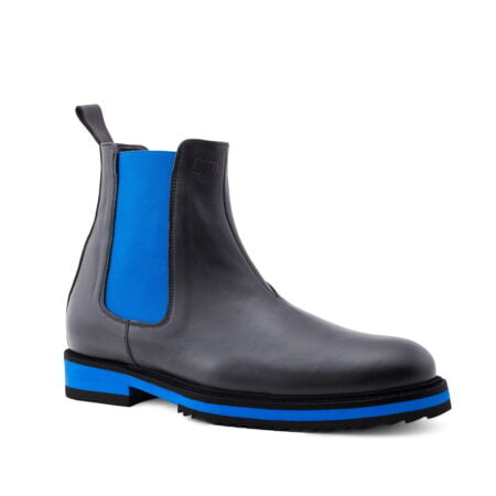 Bicolor stylish chelsea boots with height increase Guidomaggi