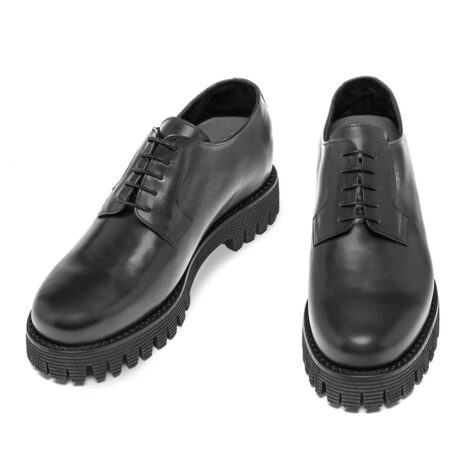 dark grey derby shoes oxford style 2