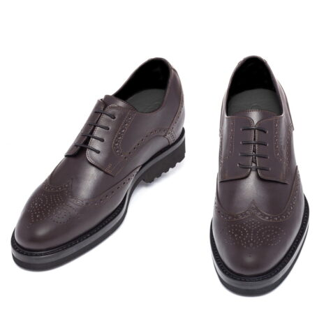 classic brown derby shoes wingtip brogue 2