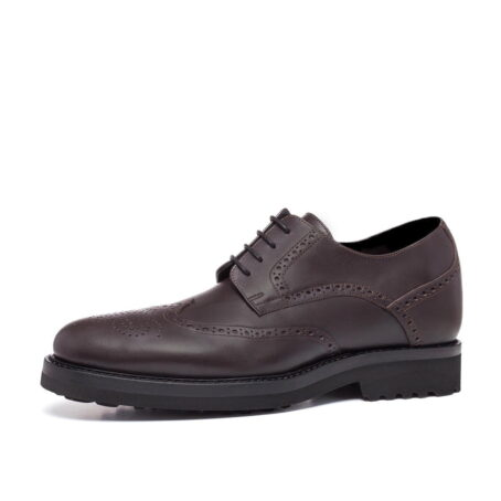 classic brown derby shoes wingtip brogue 3