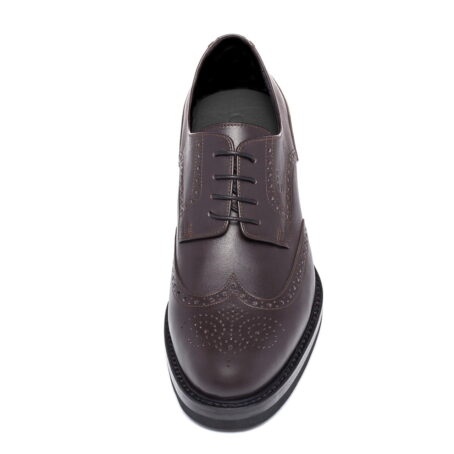 classic brown derby shoes wingtip brogue 4