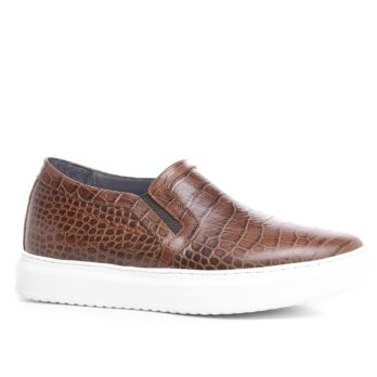 crocodil slip-on chaussures pour hommes rehaussantes Guidomaggi Suisse