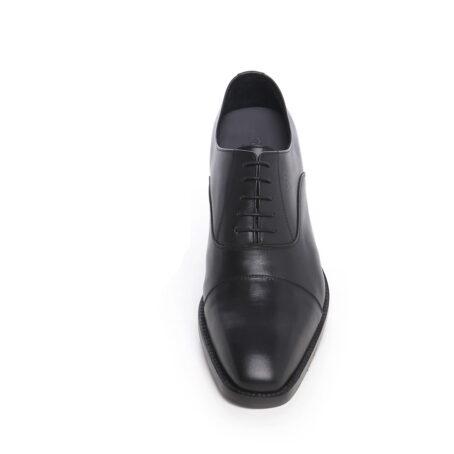 black dress shoes cap toe balmoral