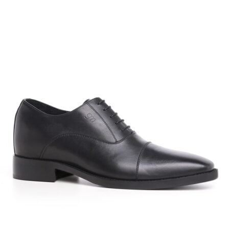 black classic oxford  cap toe balmoral 1