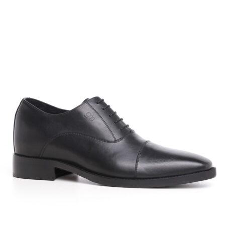 black classic oxford  cap toe balmoral 1