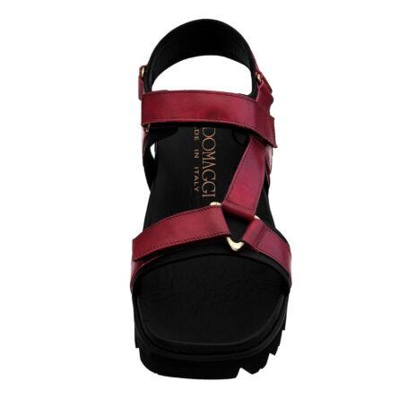 burgundy sandals for man 4