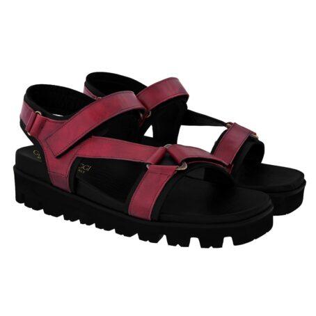 burgundy sandals for man 5