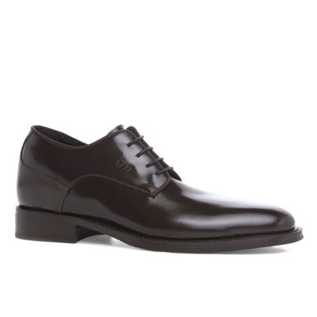 classic derby shoes shiny effect 1