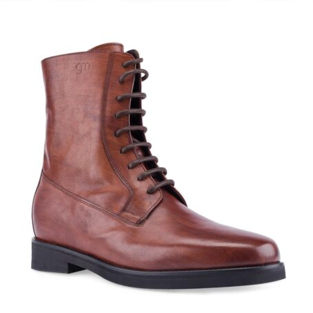 red bordeux leather boots 1