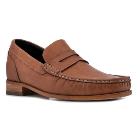 leather mocassins for men with height increase guidomaggi switzerland