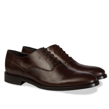 dark brown classic and elegant oxford dress shoes 5