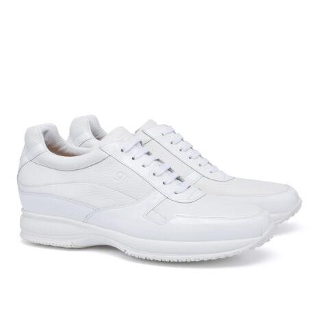 Alassio Sli-on shoe for short men Guidomaggi
