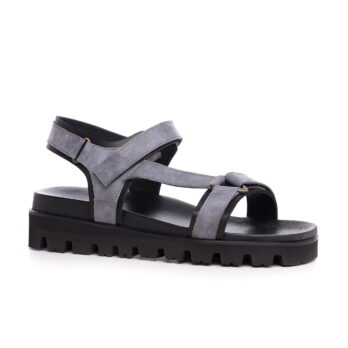elevator grey sandals with 1