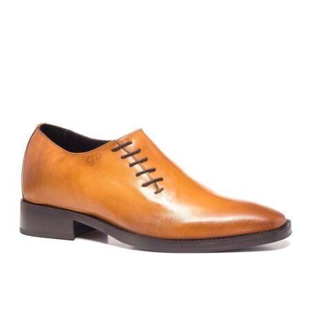 cognac patina wholecut dress shoes 1