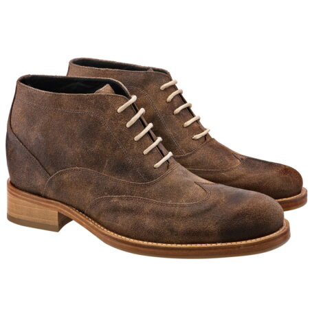 ankle boots with raised heel for men Guidomaggi