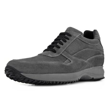 dark grey suede sneakers 5