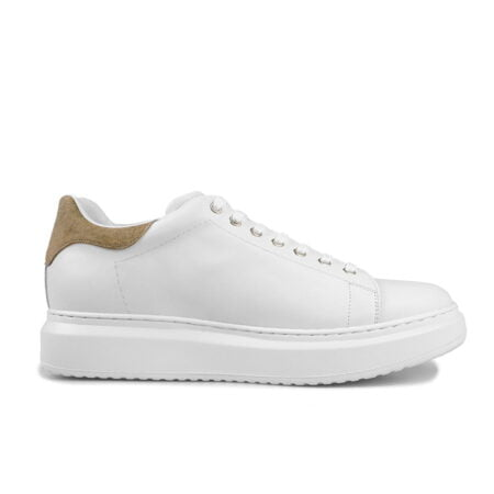 height increasing white leather shoes guidomaggi switzerland