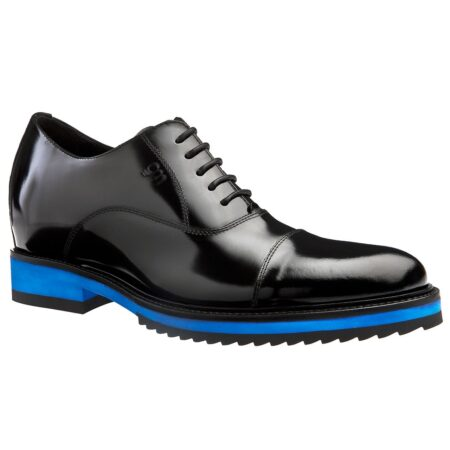shiny black oxford shoes 1