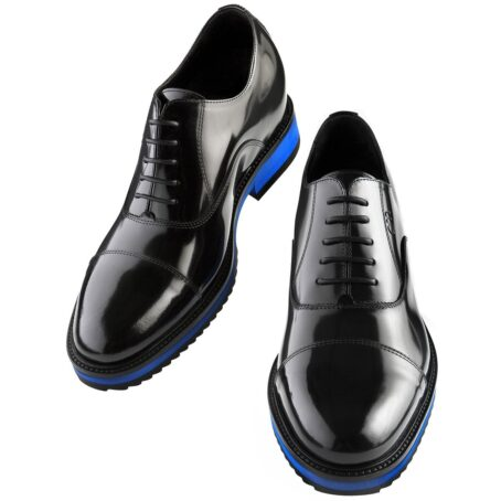 shiny black oxford shoes 2
