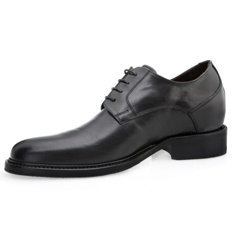 derby cerimonials shoes in black full-grain leather 3