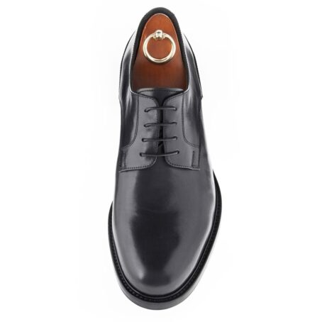 derby cerimonials shoes in black full-grain leather 5