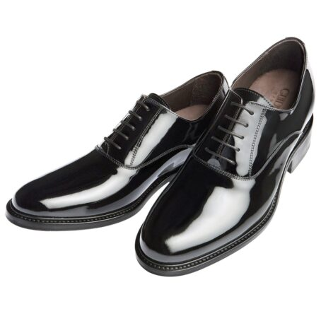 Oxford shoes in calf black patent leather 2