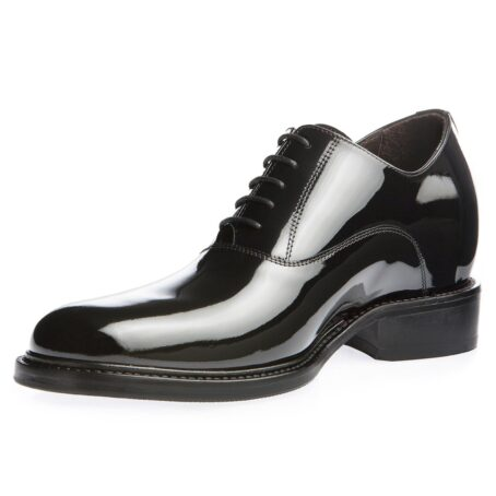 Oxford shoes in calf black patent leather 3