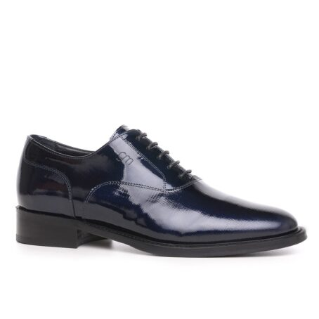Oxford shoes in patent calfskin leather 1