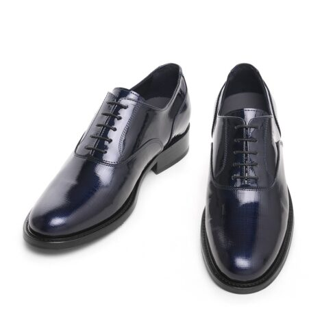 Oxford shoes in patent calfskin leather 2