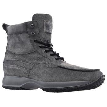 Grey suede sneakers 1