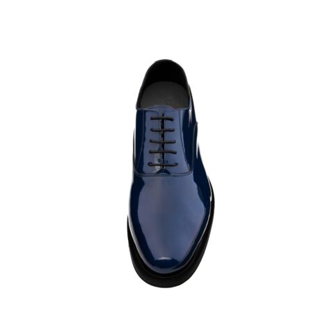 Patent blue oxford shoes 4