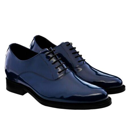 Patent blue oxford shoes 5
