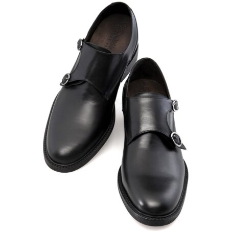 Double monk strap shoes 2