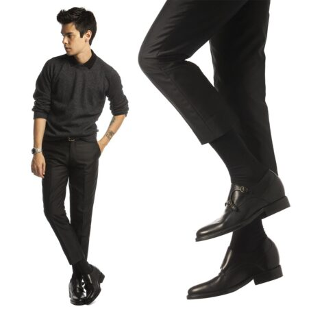 Double monk strap shoes 6