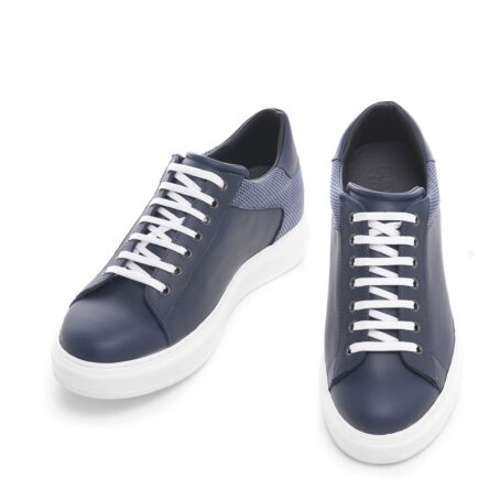Modern blue sneakers 2