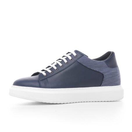Modern blue sneakers 3