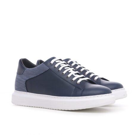 Modern blue sneakers 5
