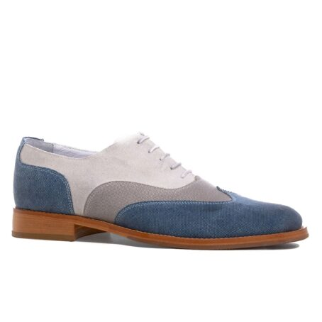 three shades of color oxford shoes 1