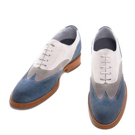 three shades of color oxford shoes 2