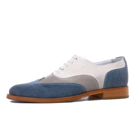 three shades of color oxford shoes 3