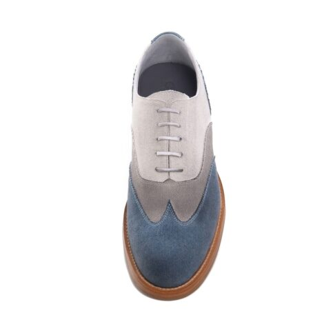 three shades of color oxford shoes 4