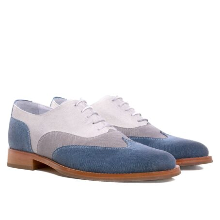 three shades of color oxford shoes 5