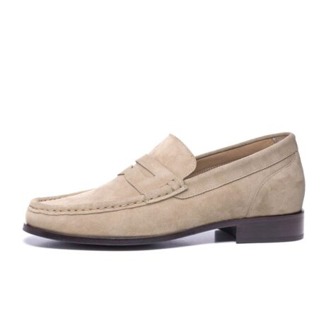 Suede penny loafers 3