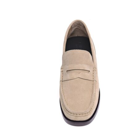 Suede penny loafers 4